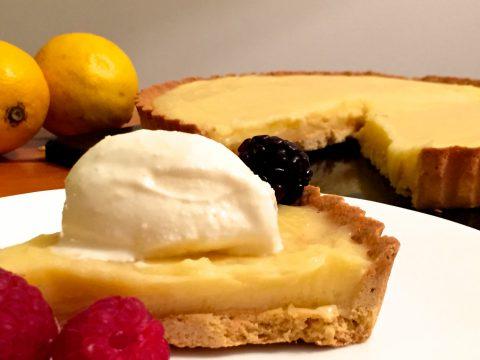 Torta de limão siciliano (Tarte au Citron)