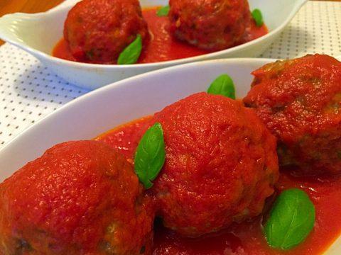 A melhor Polpetta do mundo com o melhor molho de tomate do mundo