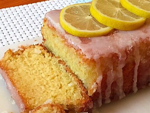 Bolo de limão siciliano bem inglês