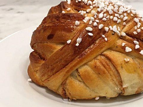Pão Sueco Doce de Canela e Cardamomo