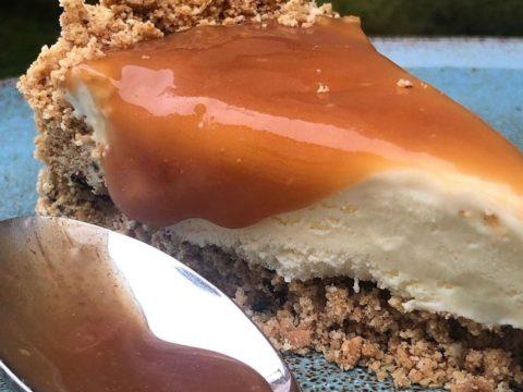 Torta de Sorvete com Caramelo de Mel